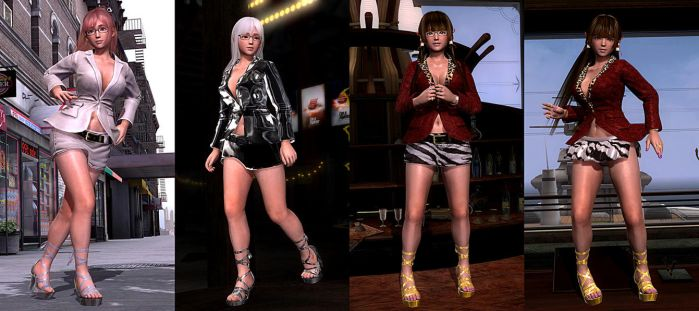 DOA5LR Mod: Hot CEO Pack by repinscourge