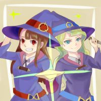 Little Witch Academia by COOKIEdotNET