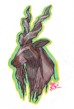 Markhor by Inspired-daydream