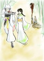 At Sesshomaru's side by Shusei
