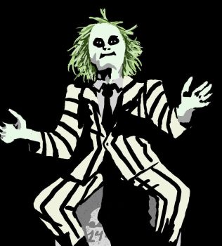 Beetlejuice by Sakurawish