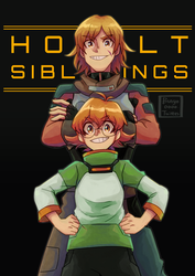 Holt siblings by Buryooooo