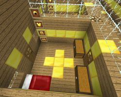 Sky Army Basecamp: Recruit Dorms - Inside a Dorm by xSagefurx