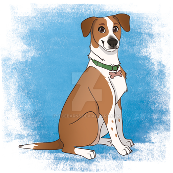 Pet Portrait Commission - Ollie by DiceBarn5