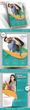 Promotion Flyer and Poster Template by Redshinestudio