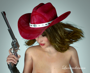 Cowgirl Dolly 3 Detail by luxrenderman