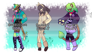 [ Closed ] Skeleton Adopts ::Batch 2:: by NobleChinchi