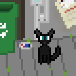 Pixel Cat by ChromeFusion44