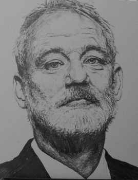 Bill Murray by graphartist64