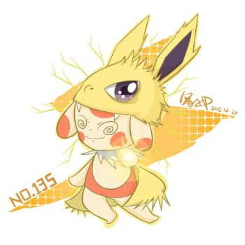 Spinda in Jolteon cover by Cysime