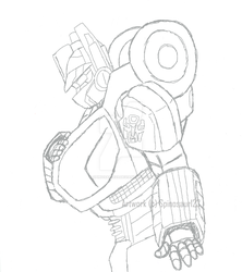 wfc optimus sketch 1 by Spinosaur123