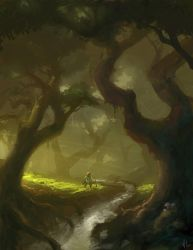 Entering Mirkwood by Venishi