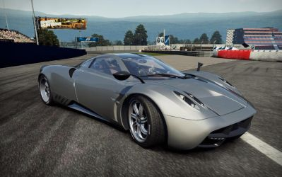 Pagani Huayra by DarkRaider2012