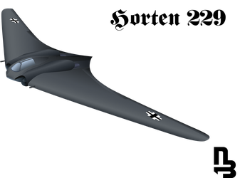 Horten 229 Vector by nikiball1