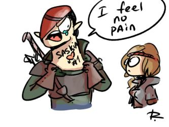 The Witcher 2, doodles 10 by Ayej