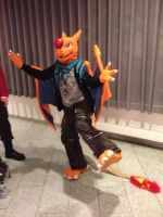 Charizard takes the show cx by Nero-The-Charizard