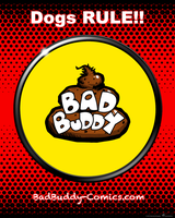 Bad Buddy Sticker by vannickArtz