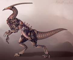 MECHABEAST by AkaPanuka