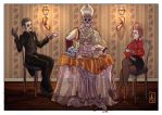 Tea time with Ghost by LadyDesiree