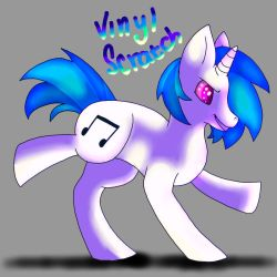 Vinyl Scratch by TheMashedCat