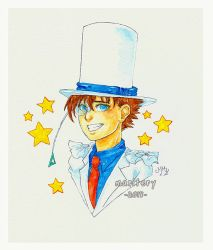 :: Commission 2 :: Kaitou Kid by maritery-san