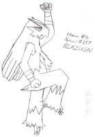 Blaziken sketch by BPMdotEXE