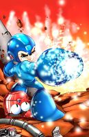 Megaman by donnobru