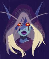 Sylvanas Windrunner by Fawkes29