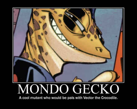 Mondo Gecko Motivational by BleckLovesTippi