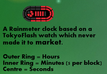 Race Track Clock 1.0 by OsricWuscfrea