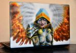 Fallen (Heroes VI) airbrushing by Nelsonito