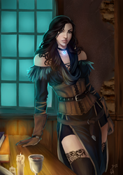 Of Lilacs and Gooseberries - Yennefer by Forty-Fathoms