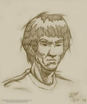 BRUCE LEE 1 by alexpal