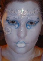 Frost Queen Makeup by OasisFae