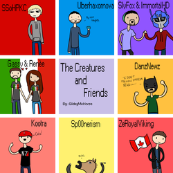 The Creatures and Friends by BurningCitiesDown