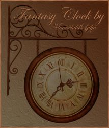 Fantasy Clock by moonchild-lj-stock
