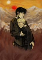 Doctor Who: Masterly Cuddles by Silarcta
