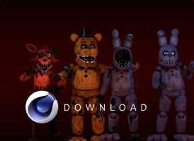 C4d Withered's coolioStuff No Wchica by rendragading