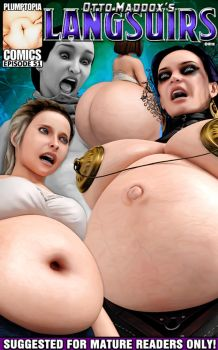 Fat belly pregnant vampire horror huge butt by plumptopia