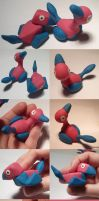 Porygon and Porygon 2 by ChibiSilverWings