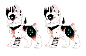 - Rad Demon Doggo Adopt - by BleedingColorAdopts