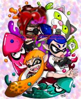 Splatoon by JenXComics28