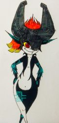 Midna-colored by WeenusLover12