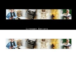 Literary Artists - Banner by enigmaticstudio