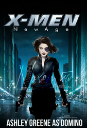 X-Men New Age // Ashley Greene // Domino by N0xentra