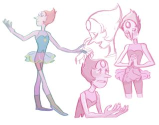 Pearl Sketches by JICheshire