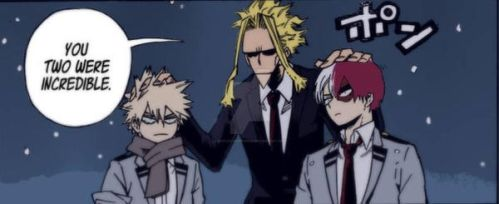 All Might  TodoBaku - Chapter 219 by explosivedesireDA