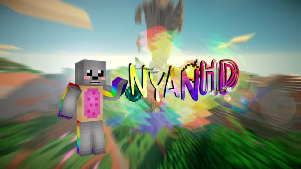 NyanHD Channel Art by VolpestyleGFX