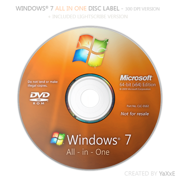 Windows 7 All in One Disc by yaxxe
