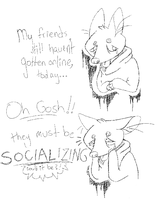 Socializing by r0dents
